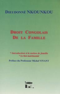 Dieudonné Nkounkou - Droit congolais de la famille.