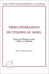 Dieudonné Ouédraogo et Philippe Antoine - .