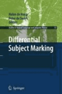 Helen de Hoop - Differential Subject Marking.