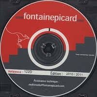 FontainePicard - OpenOffice.org Calc 3.1 - CD-ROM.