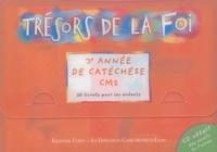 Diffusion Catéchistique Lyon - 3e année de catéchèse CM2 - 10 livrets pour les enfants. 1 CD audio