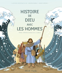 Diffusion Catéchistique Lyon et Christophe Raimbault - Histoire de Dieu avec les hommes - Frise chronologique de la Bible.