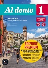 Difusion - Al Dente 1 - Livre de l'élève avec cahier premium. 1 DVD + 1 CD audio