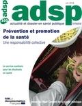 HCSP - ADSP N° 103, juin 2018 : Prévention et promotion de la santé - Une responsabilité collective.