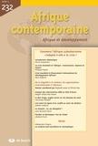 Pierre Jacquemot et Philippe Hugon - Afrique contemporaine N° 232/2009-4 : Comment l'Afrique subsaharienne s'adapte-t-elle à la crise ?.