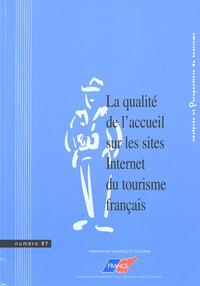 Observatoire National Tourisme - Analyses et Perspectives du tourisme N° 87 : La qualité de l'accueil sur les sites Internet du tourisme français.