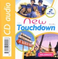 Sandrine Holdener et Sophie Leleu - Anglais 2e Bac Pro A2/B1 New Touchdown. 1 CD audio