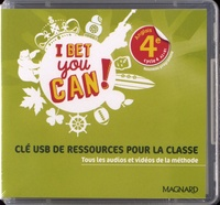 Magnard - Anglais 4e A2>B1 I bet you can!. 1 Clé Usb