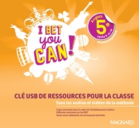Michelle Jaillet - Anglais 5e A1>A2 I bet you can!. 1 Clé Usb