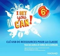 Magnard - Anglais 6e A1>A2 I Bet you can! - Clé USB de ressources pour la classe. 1 Clé Usb