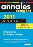 Rue des écoles - Annales corrigées Bac S - CD-ROM.