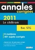 Rue des écoles - Annales corrigées Bac STG - CD-ROM.
