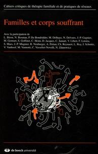 Edith Goldbeter-Merinfeld et Marco Vannotti - Cahiers critiques de thérapie familiale et de pratiques de réseaux N° 36 : Familles et corps souffrant.