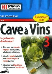 Editions Micro Application - Cave à vins 3 - CD-ROM.