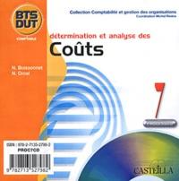 Nicole Boissonnet et Nathalie Orcel - Détermination et analyse des coûts BTS-DUT comptable. 1 Cédérom