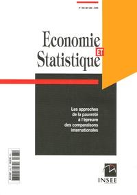 INSEE - Economie et statistique N° 383-385, 2005 : Les approches de la pauvreté à l'épreuve des comparaisons internationales.