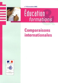 Claude Sauvageot - Education & formations N° 78, Novembre 2008 : Comparaisons internationales.
