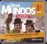 Magnard - Espagnol 1re A2+>B1 Otros Mundos ¡A descubrir!. 1 Clé Usb