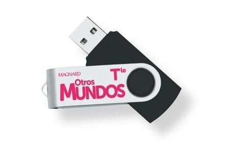 Espagnol Tle A2+ B1 Otros Mundos A descubrir!  Edition 2020 -  avec 1 Clé Usb