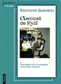 Raymond Queneau - Exercices de style. 1 CD audio