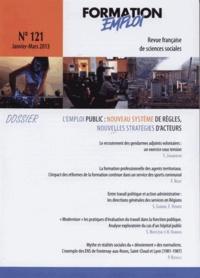 CEREQ - Formation Emploi N° 121 : Emplois publics en mutations.