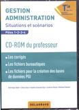 Dominique Addis et Jihane Aloui - Gestion Administration Tle Bac Pro GA - Situations et scénarios Pôles 1/2/3/4. 1 Cédérom