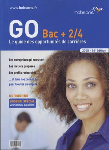 Gwénolé Guiomard - GO Bac +2/4 2005 - Le guide des opportunités de carrières.