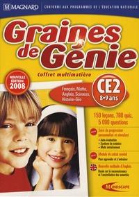 Mindscape - Graines de Génie CE2 - Coffret multimatière DVD-ROM.