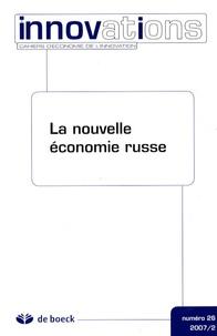 Anne-Marie Crétiéneau - Innovations N° 26 : La nouvelle économie russe.