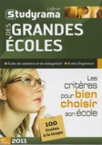 Jean-Cyrille Boutmy - L'officiel Studyrama des grandes écoles 2011 - Les critères pour bien choisir son école.