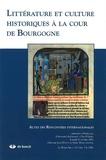 Jean Devaux et Alain Marchandisse - Le Moyen Age Tome 112 N° 3-4/2006 : Littérature et culture historiques à la cour de Bourgogne.