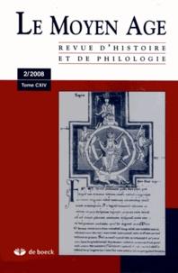 Alain Marchandisse - Le Moyen Age Tome 114 N° 2/2008 : .