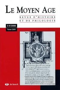 Alain Marchandisse - Le Moyen Age Tome 114 N° 3-4/2008 : .
