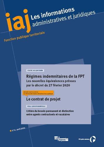 CIG petite couronne - Les informations administratives et juridiques N° 4/2020 : .