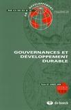 Géraldine Froger - Mondes en développement N° 136/2006/4 : Gouvernances et développement durable.