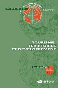 Nathalie Fabry et Sylvain Zeghni - Mondes en développement N° 157/2012/1 : Tourisme, territoires et développement.