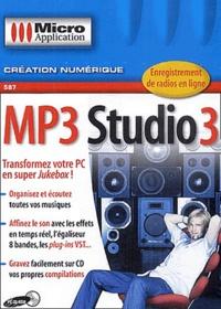 Collectif - MP3 Studio 3 - CD-ROM.
