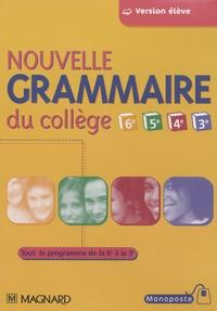 Nouvelle grammaire du collège - CD-Rom pour lélève.pdf