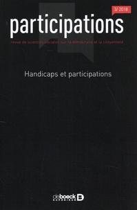 Benoît Eyraud et Sébastien Saetta - Participations N° 22, 2018/3 : Handicaps et participations.