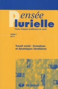 Sabine Voélin - Pensée plurielle N° 17/2008/1 : Travail social : formations et dynamiques identitaires.