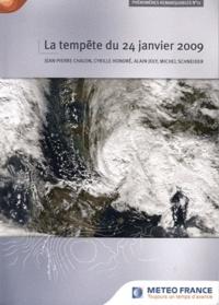 Jean-Pierre Chalon et Cyrille Honoré - Phénomènes remarquables N° 11 : La tempête du 24 janvier 2009.