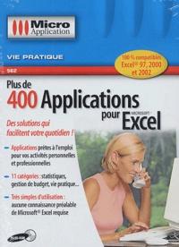 Plus de 400 applications pour Excel. CD-ROM.pdf
