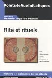 Louis Trébuchet - Points de Vue Initiatiques N° 159, Mars 2011 : Rite et rituels.