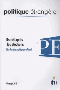 IFRI - Politique étrangère N° 1/2013 : .