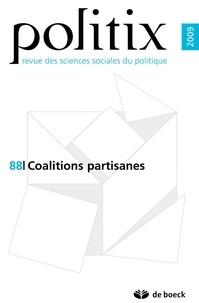 Nicolas Bué et Fabien Desage - Politix N° 88/2009 : Le gouvernement des coalitions partisanes.