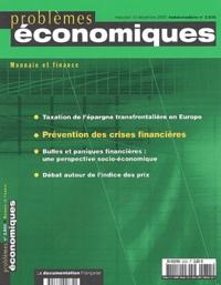 André Cartapanis et Brenda Spotton Visano - Problèmes économiques N° 2.835 mercredi 10 : Prévention des crises financières.