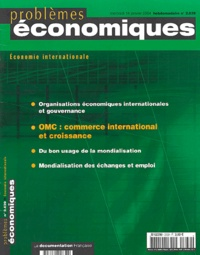 Philippe Chalmin et Hervé Boulhol - Problèmes économiques N° 2.839 - mercredi : .