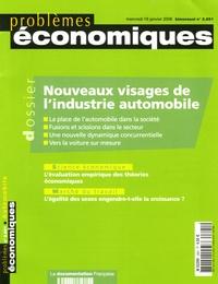Pierre Bonnaure - Problèmes économiques N° 2.891, Mercredi 1 : Nouveaux visages de l'industrie automobile.
