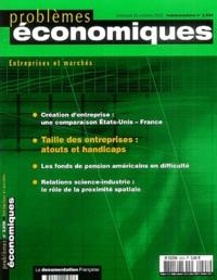 Jean-Claude Papillon et Gaëtan Monchovet - Problèmes économiques N° 2828 22 octobre 2 : Taille des entreprises : atouts et handicaps.