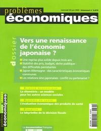 Gilles Raveaud et Hervé Defalvard - Problèmes économiques N° 2858 : Vers une renaissance de l'économie japonaise.